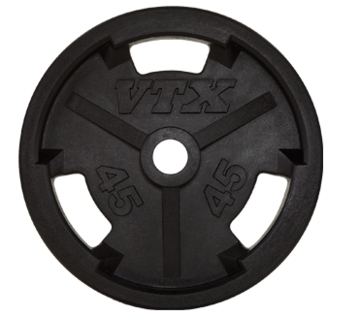Troy Barbell VTX Olympic Rubber Grip Plates